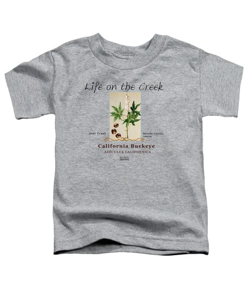 California Buckeye Toddler T-Shirt