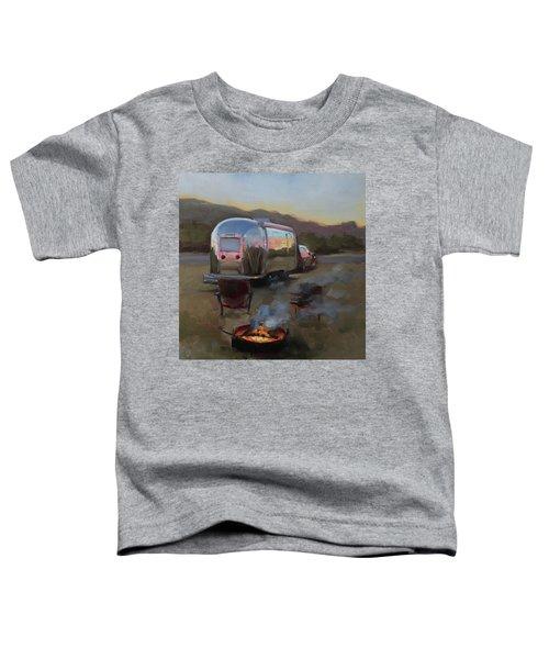 Campfire At Palo Duro Toddler T-Shirt