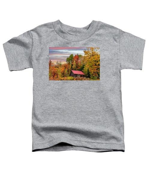 Canadian Autumn Toddler T-Shirt