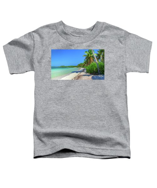 Caribbean Palm Beach Toddler T-Shirt