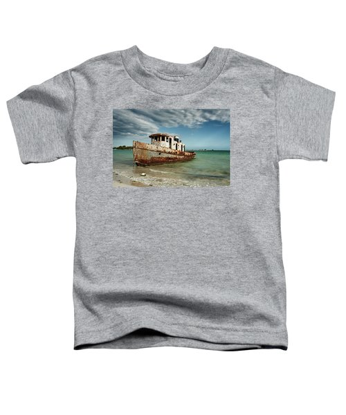 Caribbean Shipwreck 21002 Toddler T-Shirt
