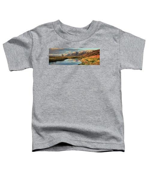 Carson Valley Sunrise Panorama Toddler T-Shirt