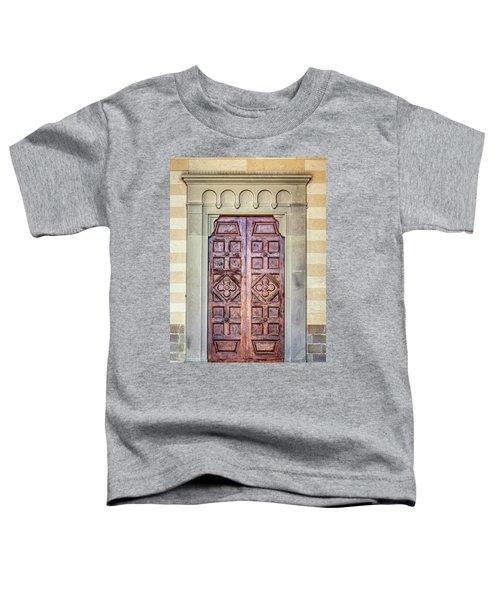Carved Door Of Cortona Toddler T-Shirt