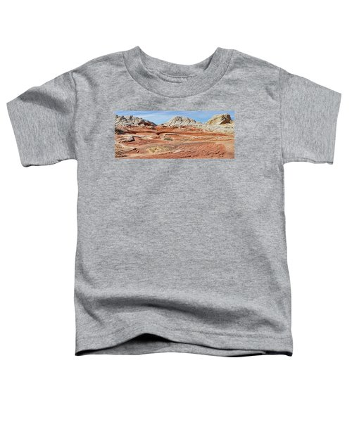 Carved In Stone Pano 2 Toddler T-Shirt