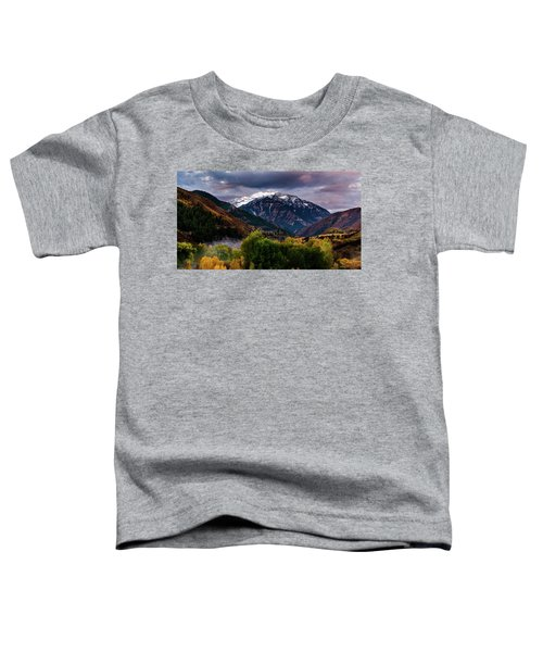 Cascade Mountain Toddler T-Shirt