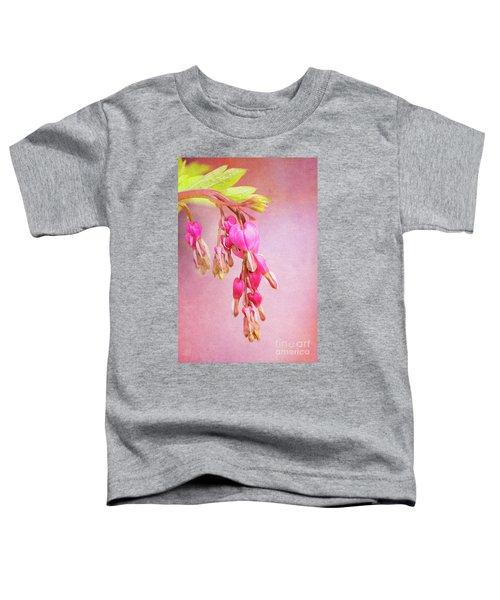 Cascading Bleeding Hearts Toddler T-Shirt