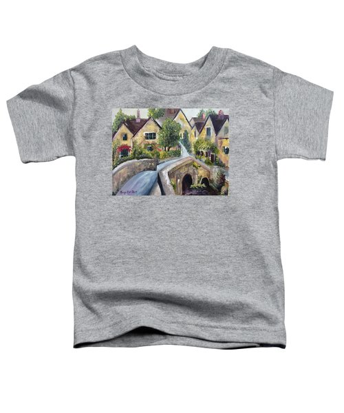 Castle Combe Toddler T-Shirt