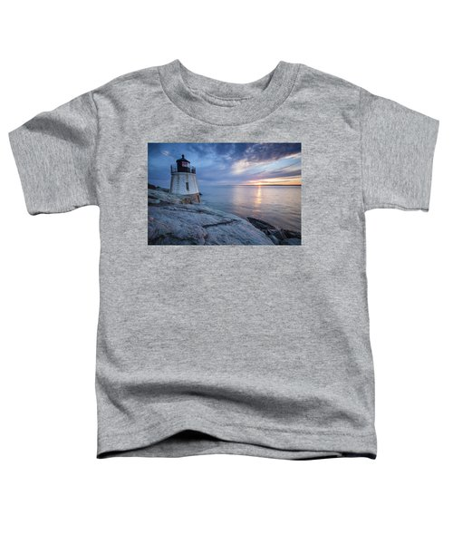 Castle Hill Light Sunset Toddler T-Shirt