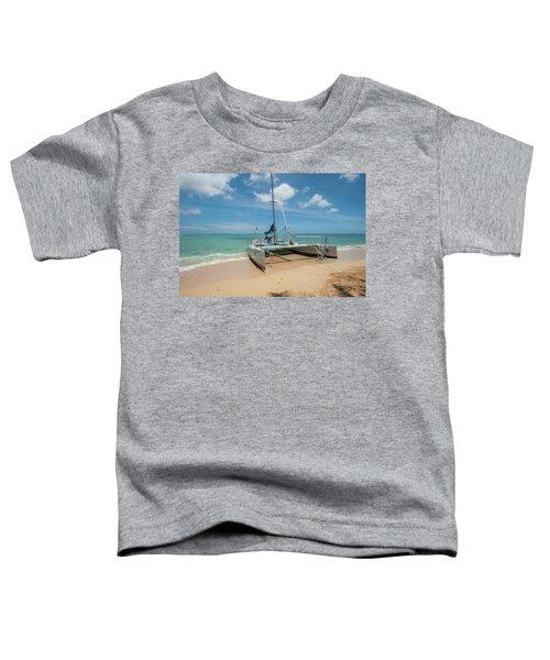 Catamaran On Waikiki Toddler T-Shirt