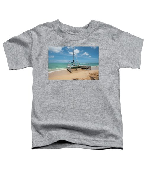 Catamaran On Waikiki Toddler T-Shirt