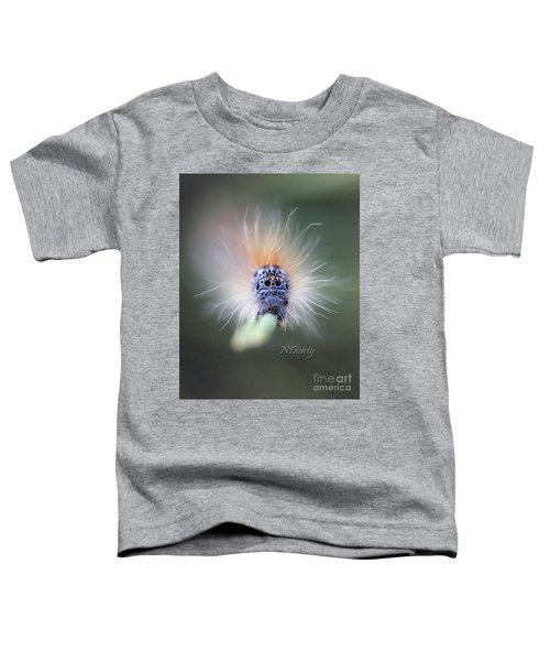 Caterpillar Face Toddler T-Shirt
