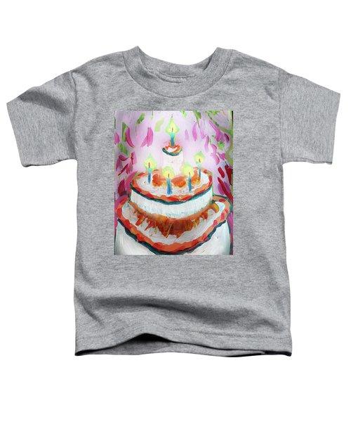 Celebration Cake Toddler T-Shirt
