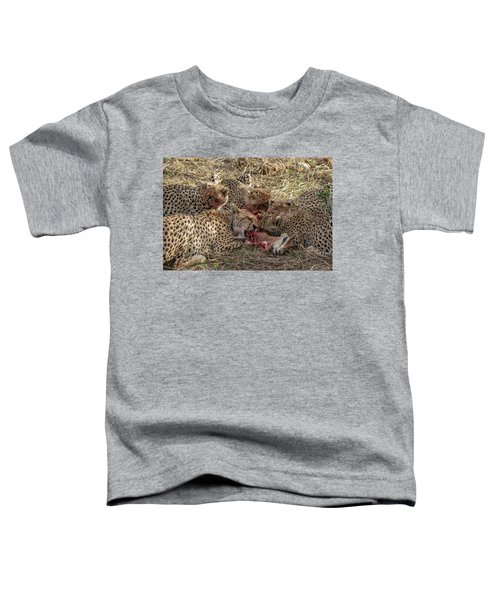 Cheetahs And Grant's Gazelle Toddler T-Shirt