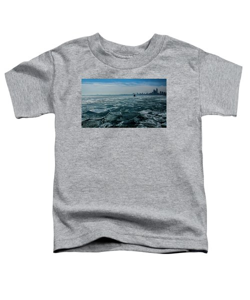 Chicago In Winter Toddler T-Shirt