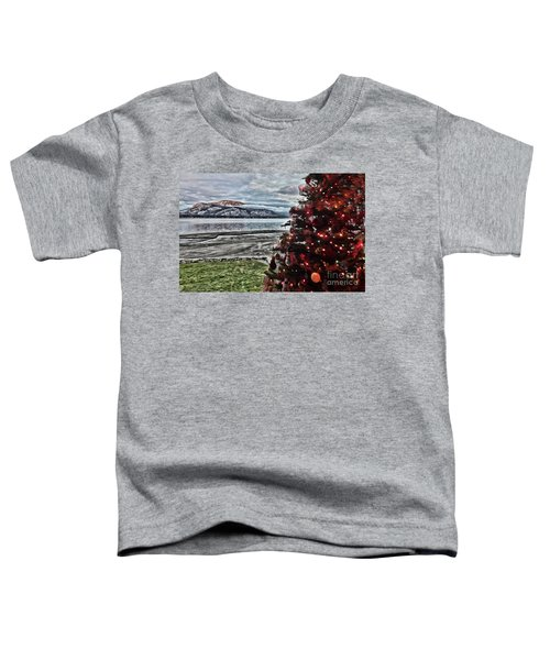 Christmas View Toddler T-Shirt