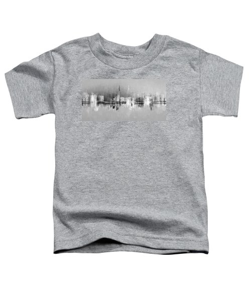 City In Black Toddler T-Shirt