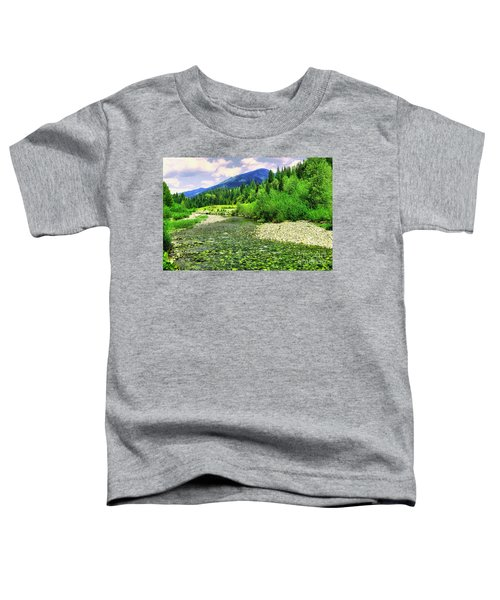 Clear Colorado Water Toddler T-Shirt