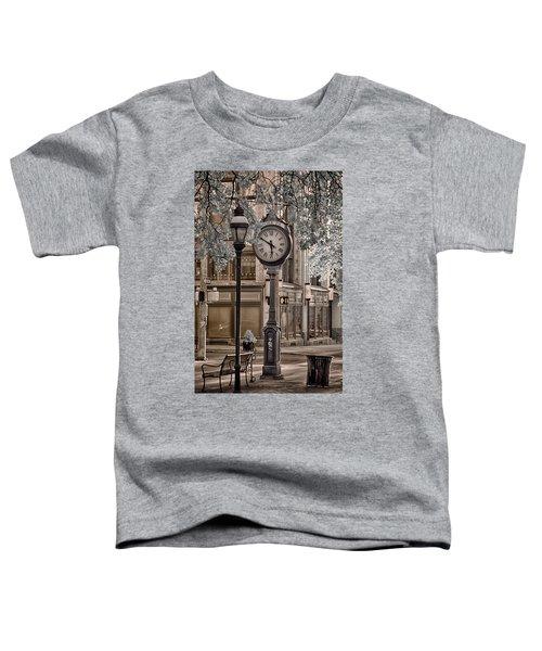 Clock On Street Toddler T-Shirt