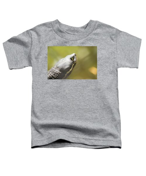 Close Up Of A Turtle. Toddler T-Shirt