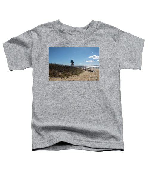 Coastal Brant Light House Toddler T-Shirt