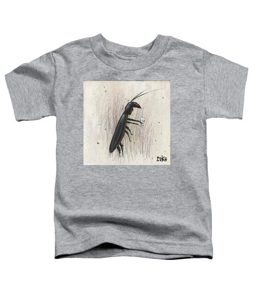 Cockroach With Martini Toddler T-Shirt