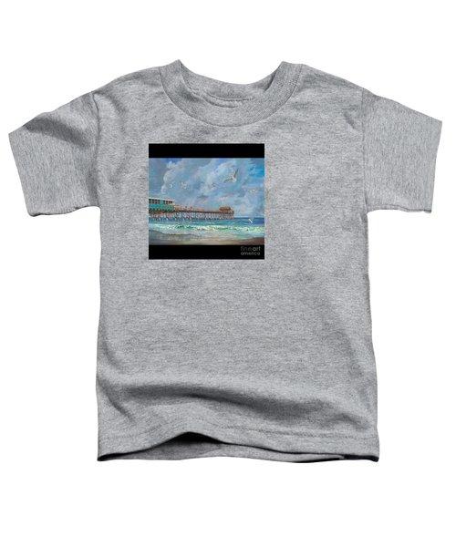 Cocoa Beach Pier Toddler T-Shirt