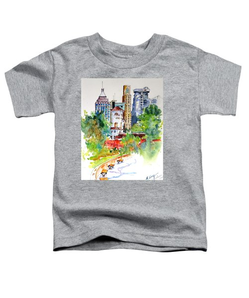 Colonial Vs The Modern In Hong Kong Toddler T-Shirt