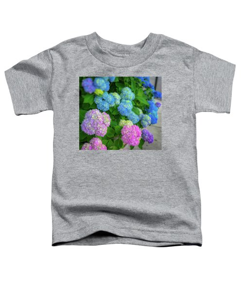 Colorful Hydrangeas Toddler T-Shirt