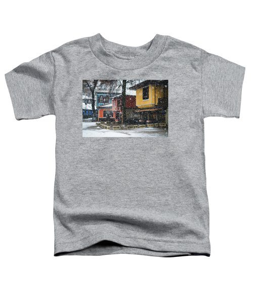 Colorful Koprivshtica Houses In Winter Toddler T-Shirt