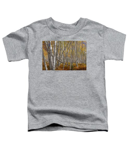 Toddler T-Shirt featuring the photograph Colorful Stick Forest by James BO Insogna