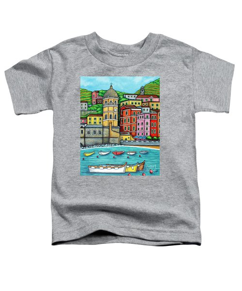 Colours Of Vernazza Toddler T-Shirt
