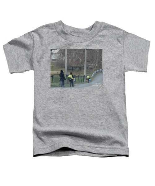 Coming Home From School Toddler T-Shirt