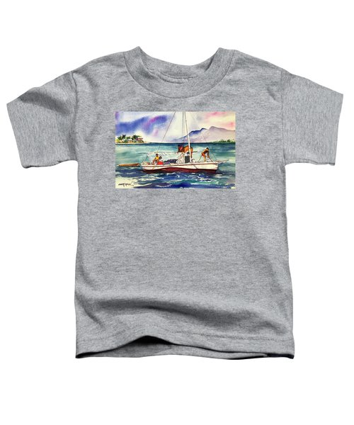Conch Divers In Belize Toddler T-Shirt