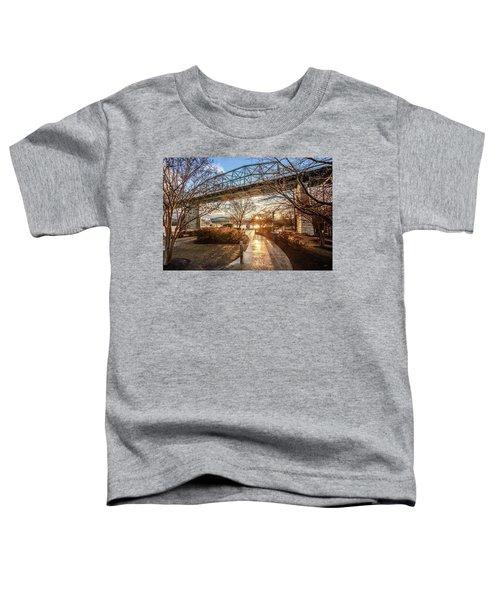 Coolidge Park Path At Sunset Toddler T-Shirt