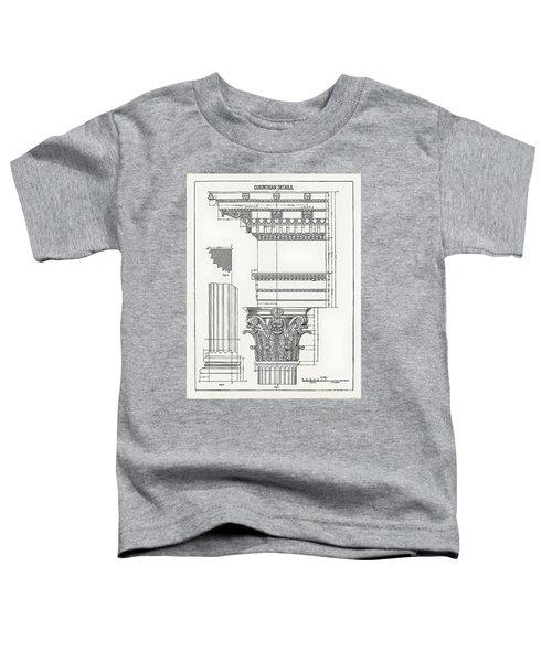 Corinthian Architecture Toddler T-Shirt