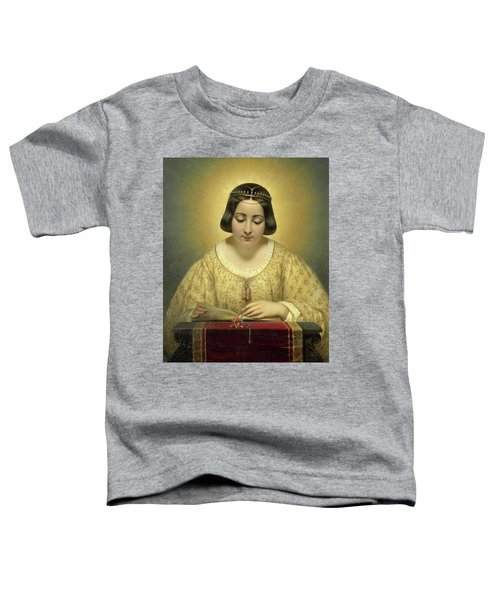 Countess De Pages, Born Of Cornellan, As St Catherine Toddler T-Shirt