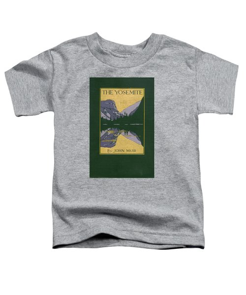 Cover Design For The Yosemite Toddler T-Shirt
