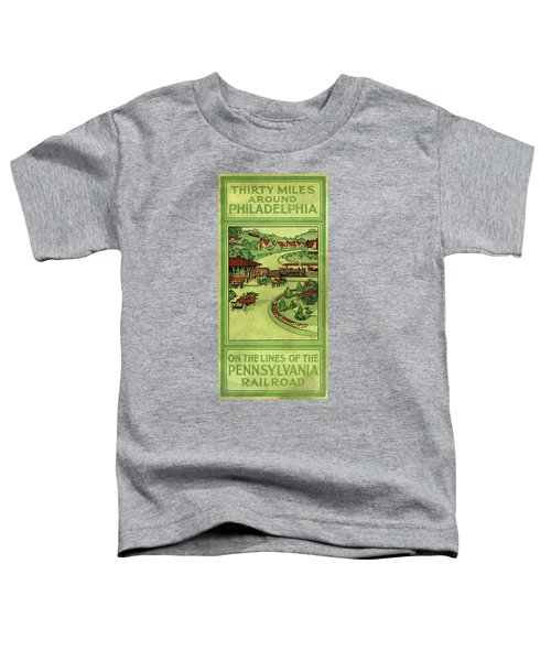 Cover Of Thirty Miles Around Philadelphia Toddler T-Shirt