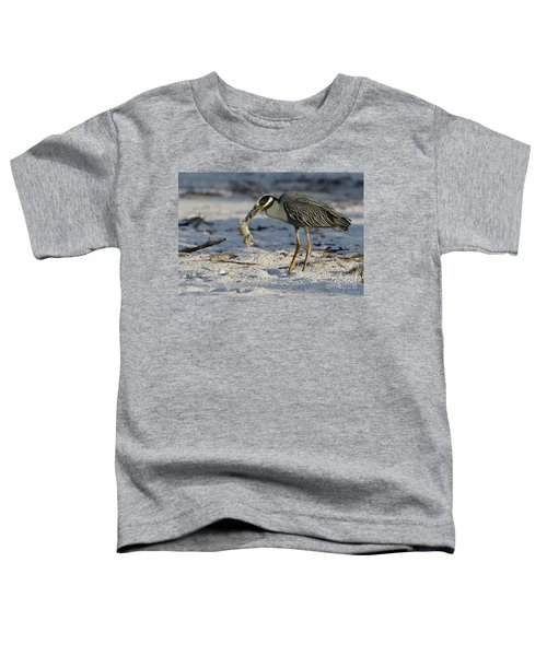 Crab For Breakfast Toddler T-Shirt