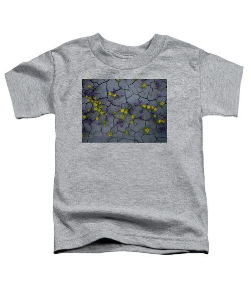 Cracked Blossoms Toddler T-Shirt