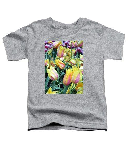 Crazy Tulips Toddler T-Shirt