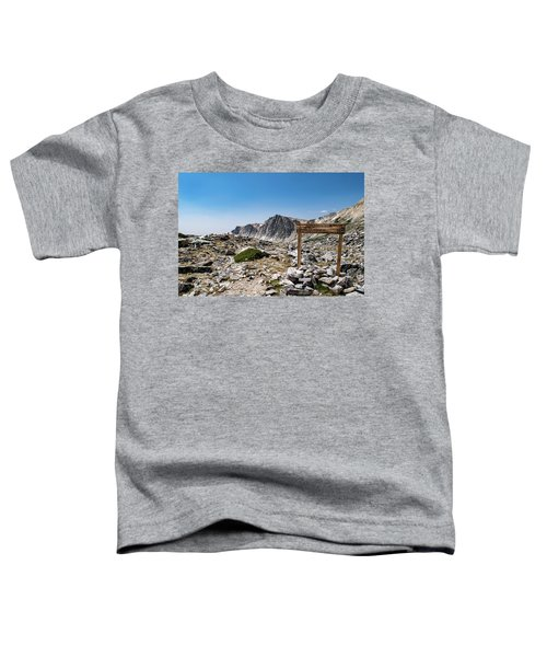 Crossroads At Medicine Bow Peak Toddler T-Shirt