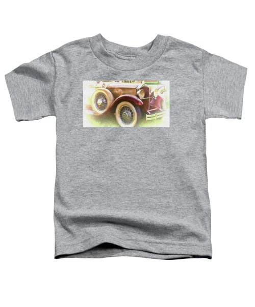 Cruise Into Tomorrow With Yesterday's Wheels Toddler T-Shirt
