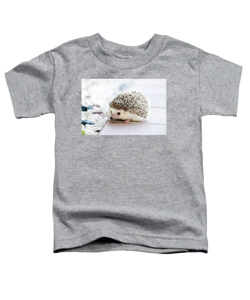 Cute Hedgeog Toddler T-Shirt