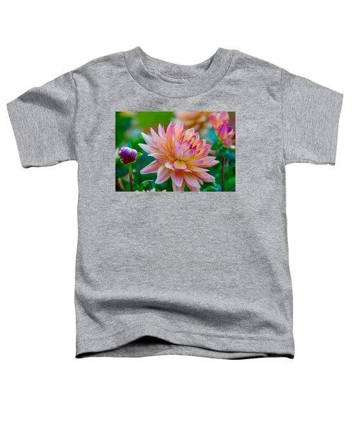 Dahlia Splendor Toddler T-Shirt
