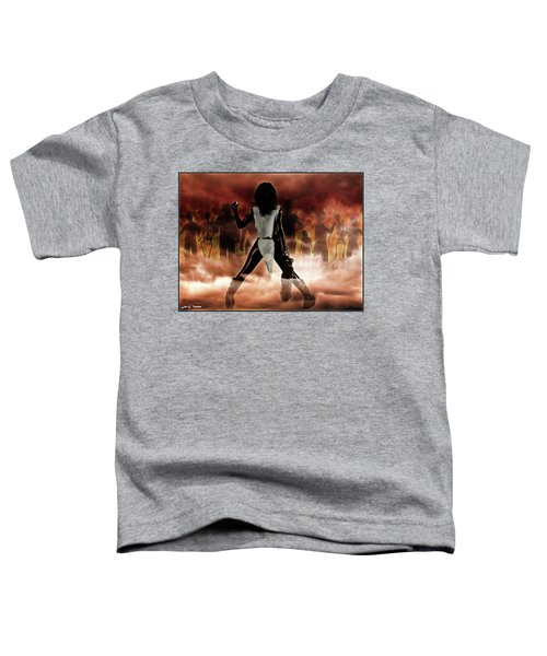 Deathstalker Vs Evil Dead Toddler T-Shirt