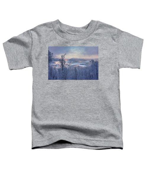 Deer Valley Winter View Toddler T-Shirt