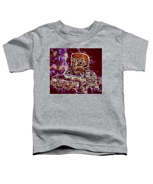 Dean Winchester Car Supernatural Pop  Toddler T-Shirt