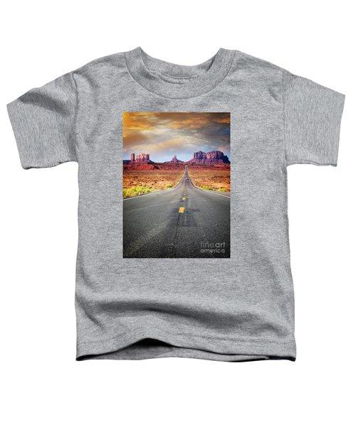 Desert Drive Toddler T-Shirt