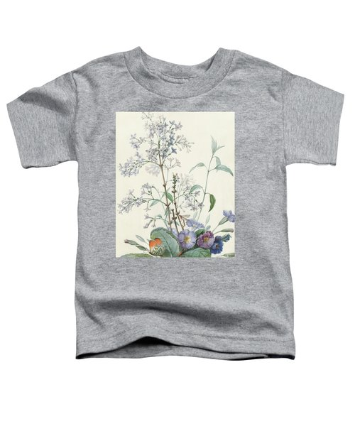 Detail Of A Bouquet Of Flowers With Insects Toddler T-Shirt